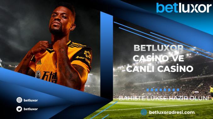 Betluxor Casino ve Canlı Casino
